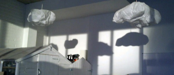 Make our cloud lampshades at the Goodlife Centre