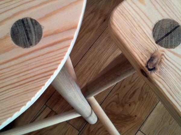 Foot stools at the Goodlife Centre