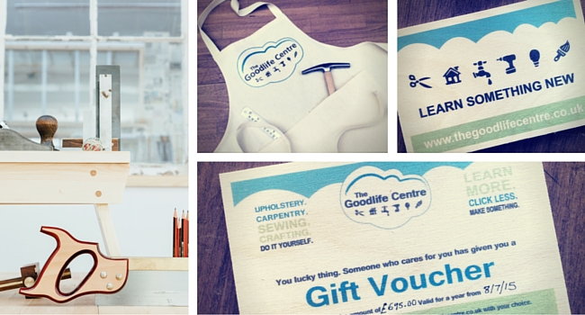 Gift Vouchers & Handmade Aprons from The Goodlife Centre