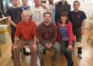 Meditation Bench Building for Veterans