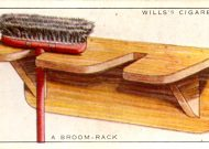 Wills Trading Cards - broom rack