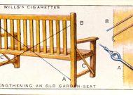 Strengthening an Old Garden Seat