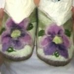 Felt Making Slippers at The Goodlife Centre