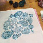 Wood Block Printing at The Goodlife Centre