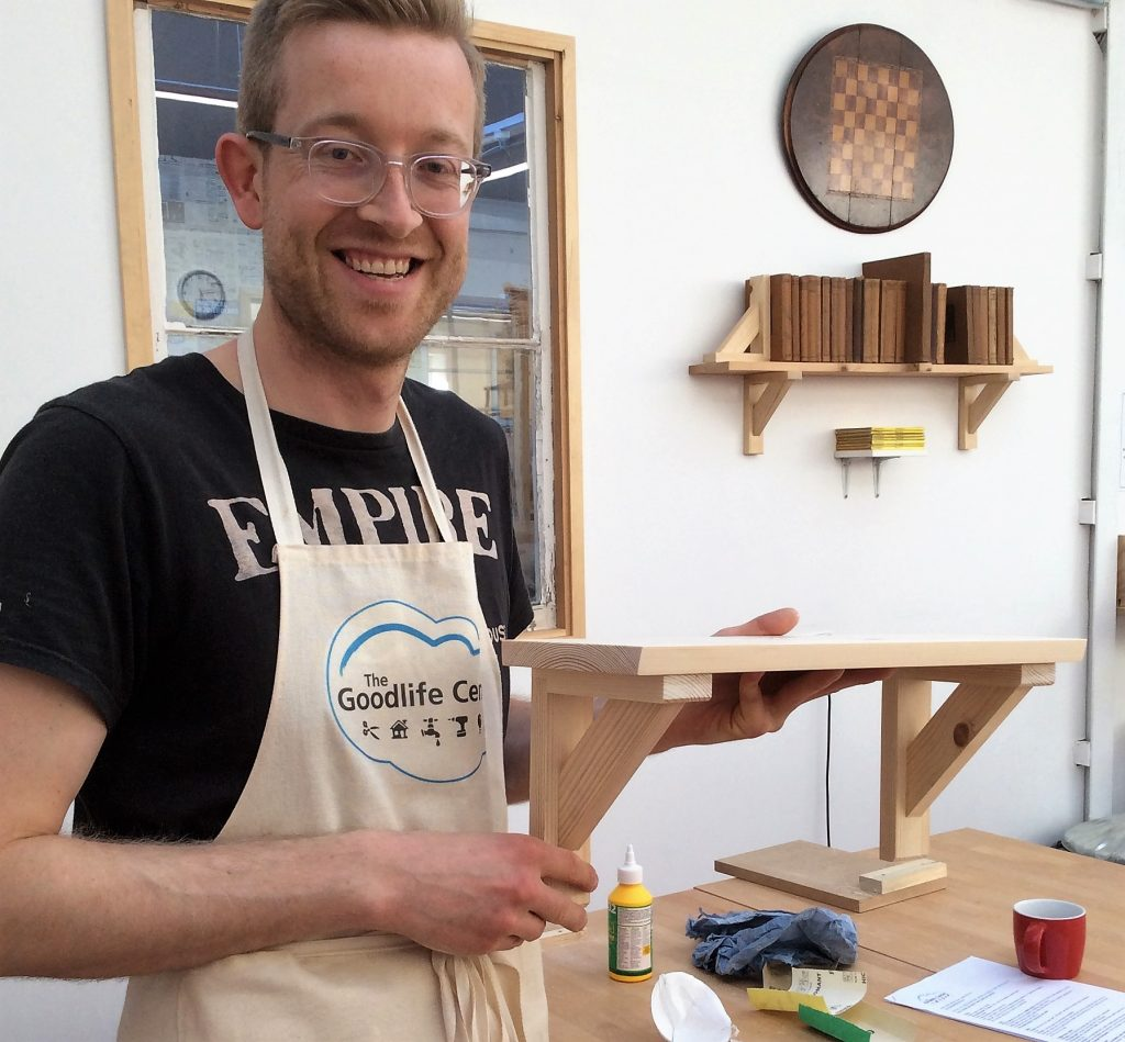 INTRO TO WOODWORK - 1 DAY - SHELF & BRACKETS | The Goodlife Centre