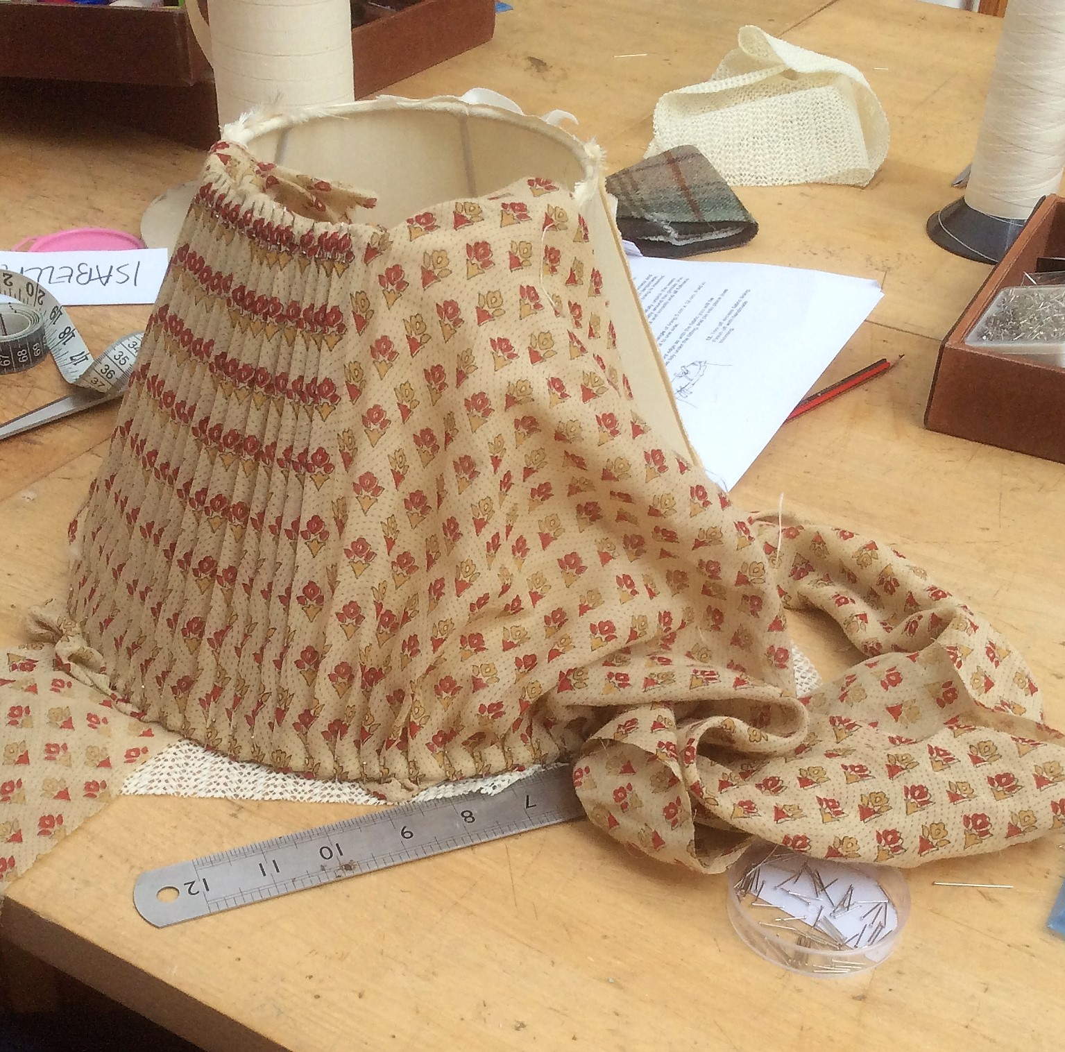 Traditional Modern Lampshade Making