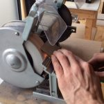 Grinding and sharpening tools at The Goodlife Centre