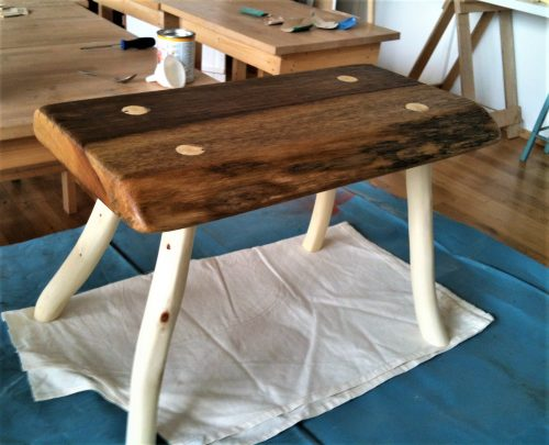 Once Glued, The Stool Can Be Finished With Further Sanding And Oiling Until  The Wood Stool Is Silky Smooth And You Are Ready To Take It Home At The End  For ...