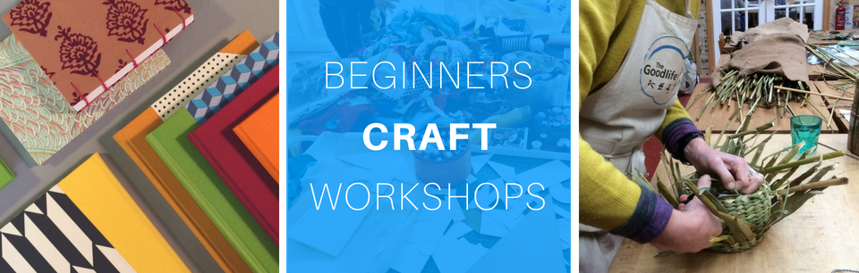 Beginners Craft & Sewing Workshops in Central London at The Goodlife Centre