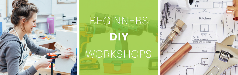 Beginners DIY Workshops in Central London at The Goodlife Centre