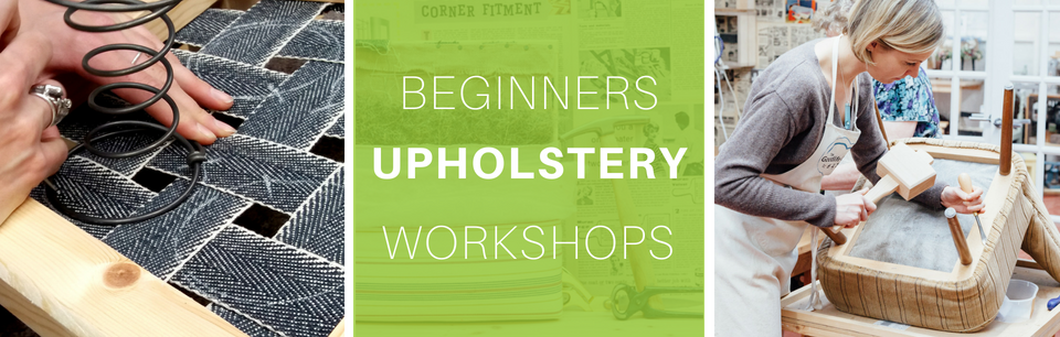 Beginners Upholstery Workshops in Central London at The Goodlife Centre